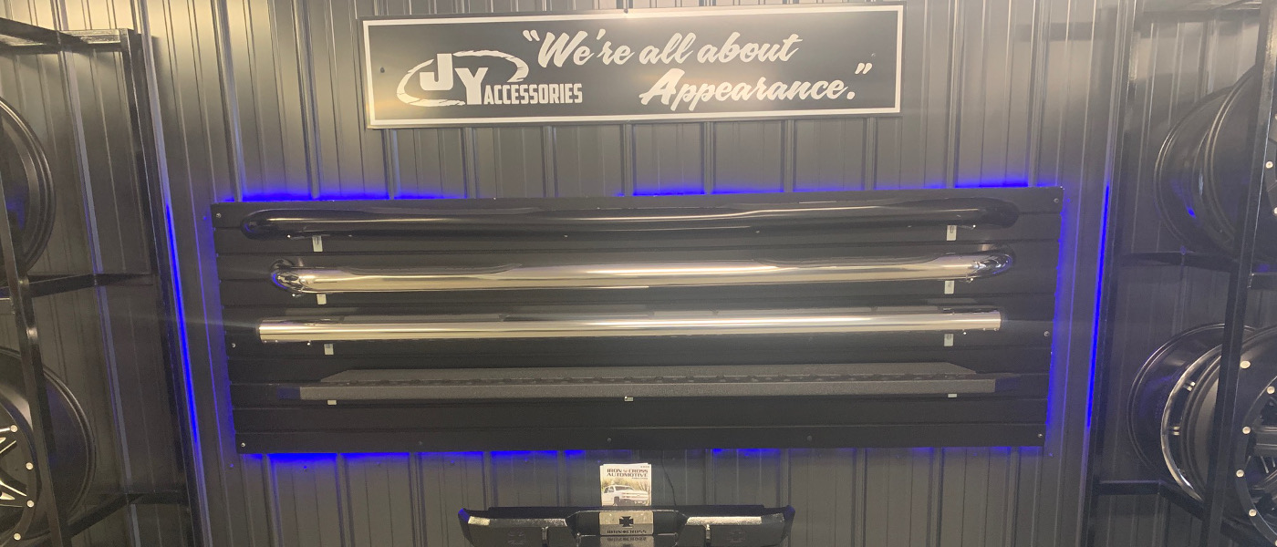 JY Collision Center Accessories Wall